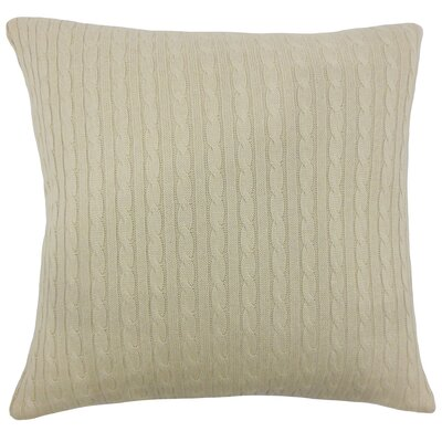 Cassandra Pillow Color: Natural
