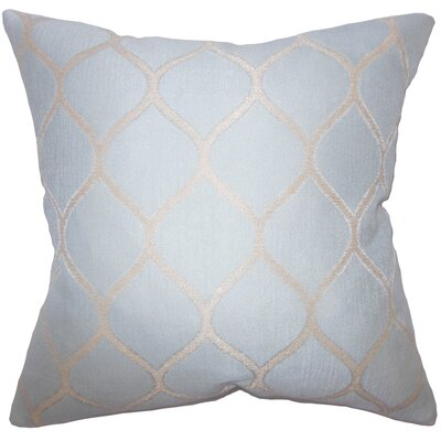 Honeycomb Throw Pillow Size: 18 x 18