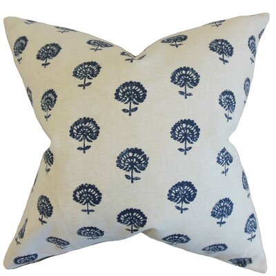Londyn Floral Cotton Throw Pillow Size: 24 x 24