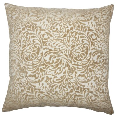 Sagebrush Damask Bedding Sham Size: Euro, Color: Toffee