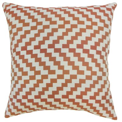 Fai Geometric Cotton Throw Pillow Cover