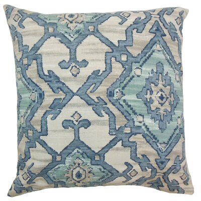 Halia Ikat Cotton Throw Pillow Cover