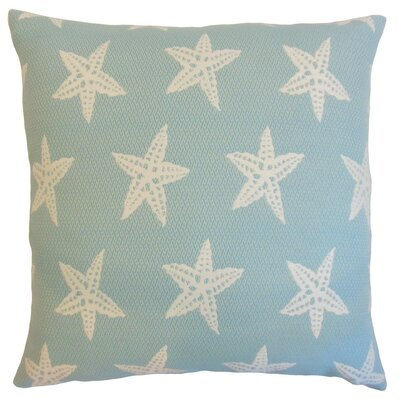 Macawi Outdoor Throw Pillow Color: Baltic, Size: 24 x 24