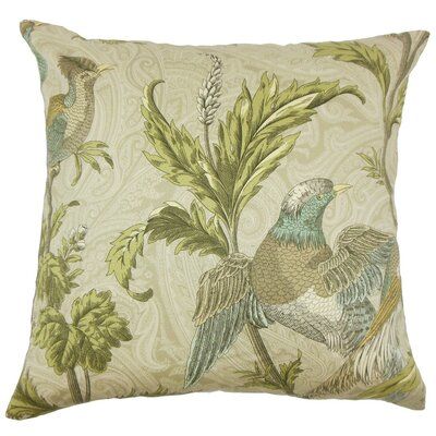 Dayaa Graphic Cotton Throw Pillow Size: 22 x 22