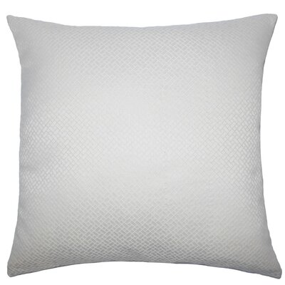 Pertessa Geometric Throw Pillow Cover Color: Bone