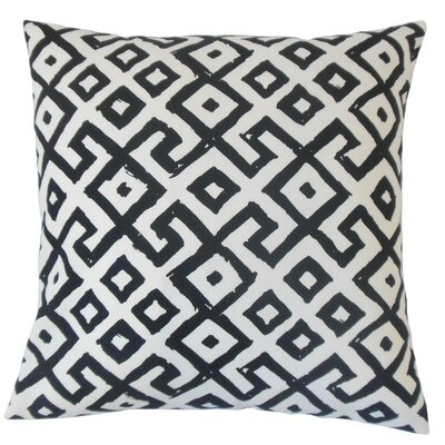 Rizwan Geometric Cotton Throw Pillow Cover