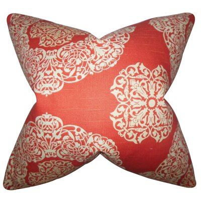 Ilona Geometric Cotton Throw Pillow Cover Color: Russett