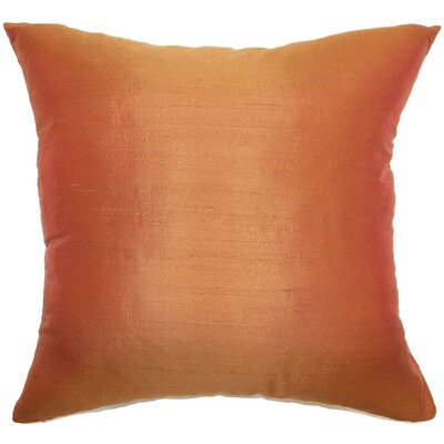 Veristi Solid Cotton Throw Pillow Cover