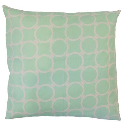 Baywood Geometric Cotton Throw Pillow Size: 18 x 18