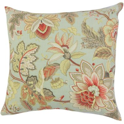 Filipa Floral Throw Pillow Size: 18 x 18