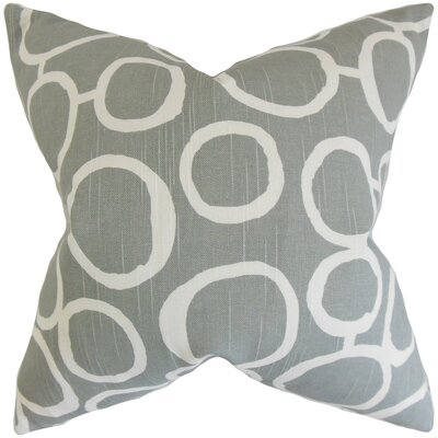 Franca Geometric Cotton Throw Pillow Size: 22 x 22