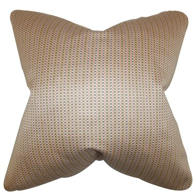 Adair Geometric Silk Throw Pillow Size: 18 x 18