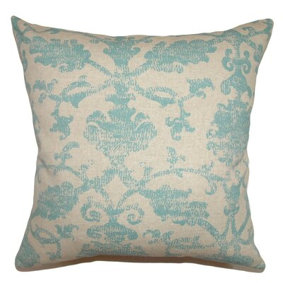 Kabala Floral Cotton Throw Pillow Cover Size: 18 x 18