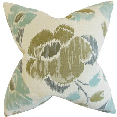 Pemberton Floral Cotton Throw Pillow Cover