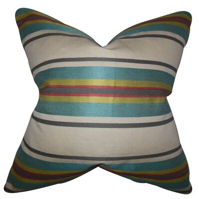 Osric Stripe Throw Pillow Size: 18 x 18