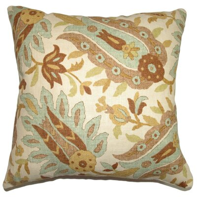 Gafsa Paisley Throw Pillow Cover Size: 18 x 18