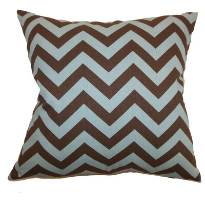 Burd Zigzag Throw Pillow Cover Color: Village Natural