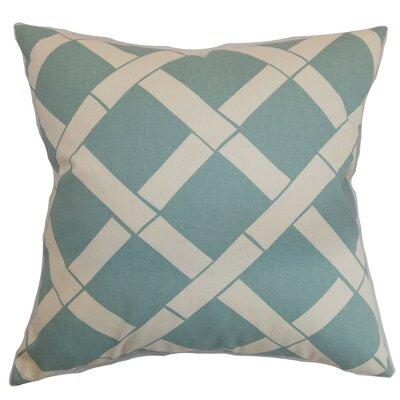 Marianske Geometric Cotton Throw Pillow Cover