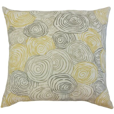 Blakesley Graphic Cotton Throw Pillow Cover Color: Beach