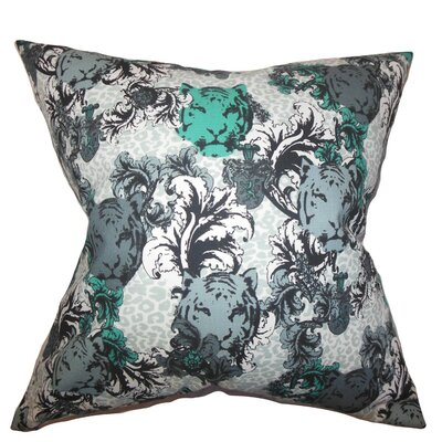 Eavan Floral Cotton Throw Pillow Size: 18 x 18