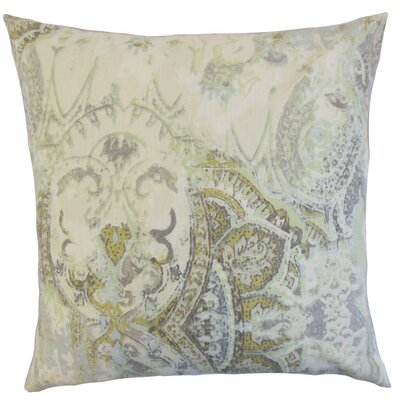 Havilah Floral Cotton Throw Pillow Cover Color: Vineyard