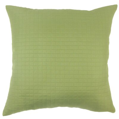 Faylinn Solid Outdoor Throw Pillow Cover