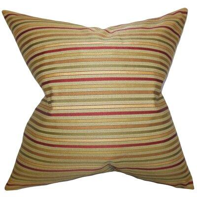 Damika Stripes Throw Pillow Size: 22 x 22