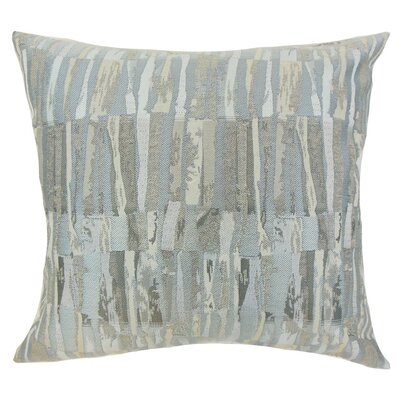 Cali Graphic Throw Pillow Cover Color: Gray