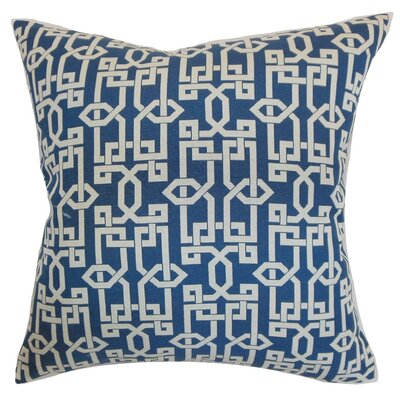 Cananea Geometric Cotton Throw Pillow Cover Size: 18 x 18