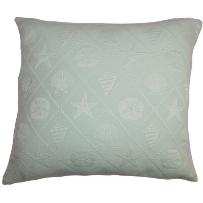 Qadira Coastal Throw Pillow Size: 24 x 24