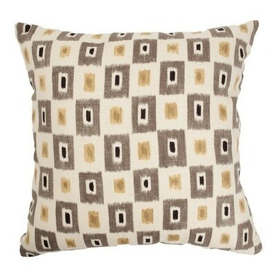 Dagwood Geometric Bedding Sham Color: Cinder, Size: King