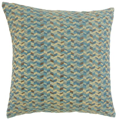 Bloem Throw Pillow Color: Marina, Size: 18 x 18