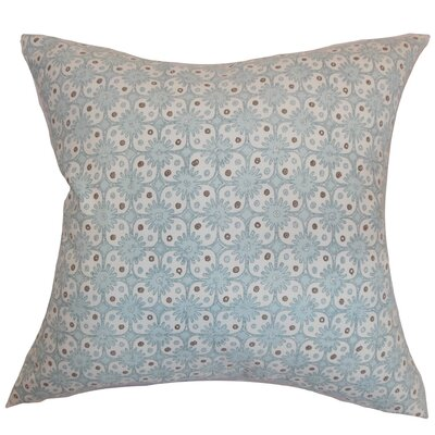 Eday Floral Cotton Throw Pillow Cover