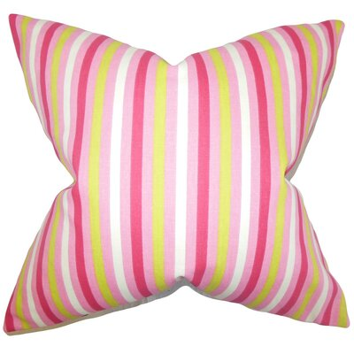 Keyla Stripes Throw Pillow Size: 18 x 18