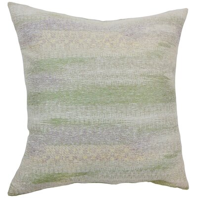 Ngozi Graphic Throw Pillow Cover Color: Kismet