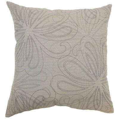 Pomona Floral Throw Pillow Cover Color: Sand