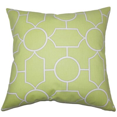 Umed Geometric Cotton Throw Pillow Cover