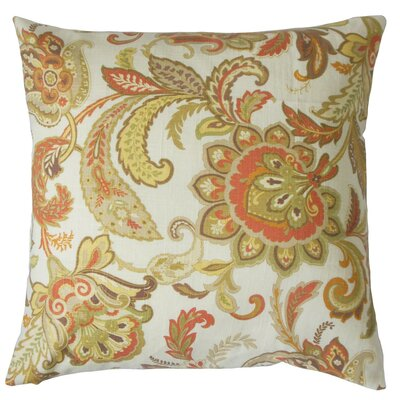 Pelagia Floral Throw Pillow Size: 18 x 18
