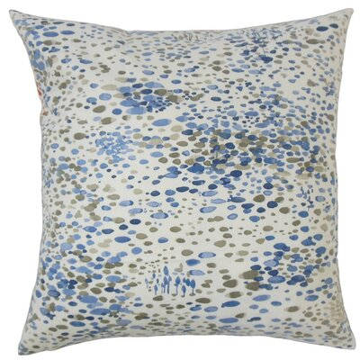 Adelheid Geometric Cotton Throw Pillow Size: 22 x 22