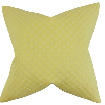 Kasen Solid Bedding Sham Size: Queen, Color: Yellow