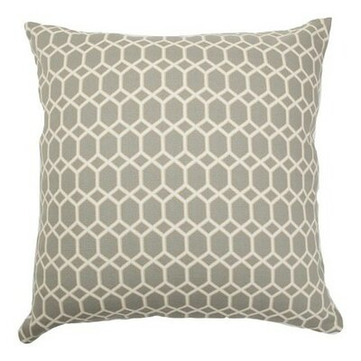 Packard Diamonds Cotton Throw Pillow Size: 18
