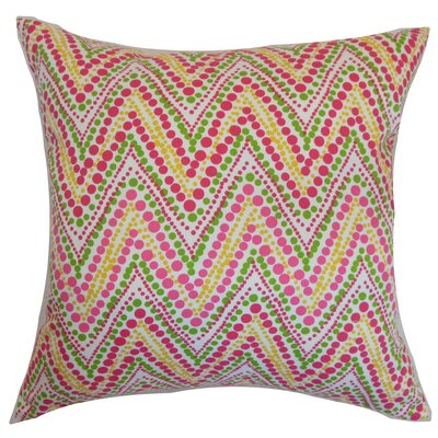 Maesot Cotton Throw Pillow Size: 22 x 22