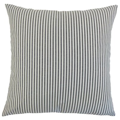 Melinda Stripes Bedding Sham Size: Queen, Color: Black