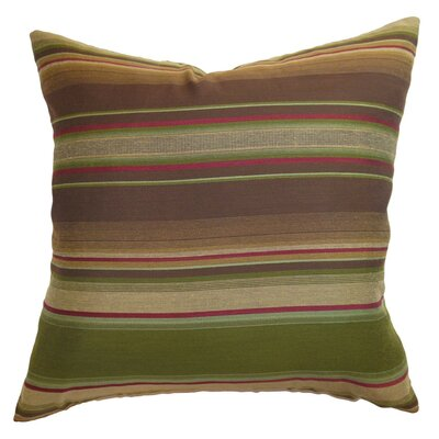 Neville Stripes Throw Pillow Size: 18 x 18