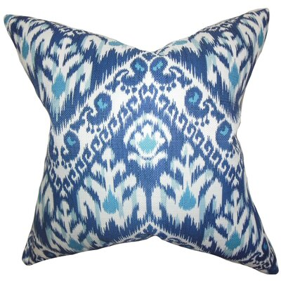 Rafiq Ikat Throw Pillow Size: 18 x 18
