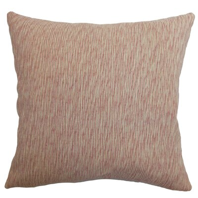 Kaesha Solid Silk Throw Pillow Cover