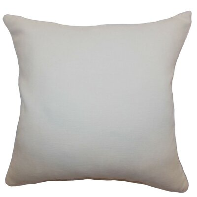 Portia Plain Velvet Throw Pillow Size: 18