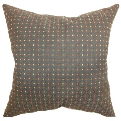 Ocelfa Dots Silk Throw Pillow Cover
