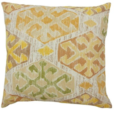 Galen Ikat Throw Pillow Size: 18 x 18
