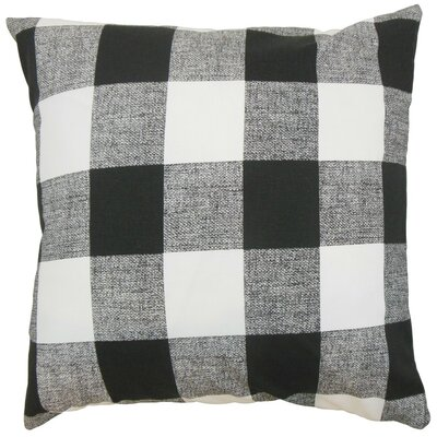 Alfonso Plaid Cotton Throw Pillow Cover